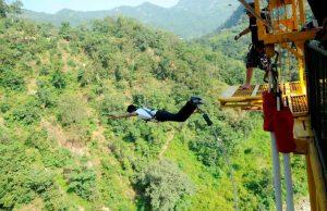 Bungee Jump in Rishikesh
