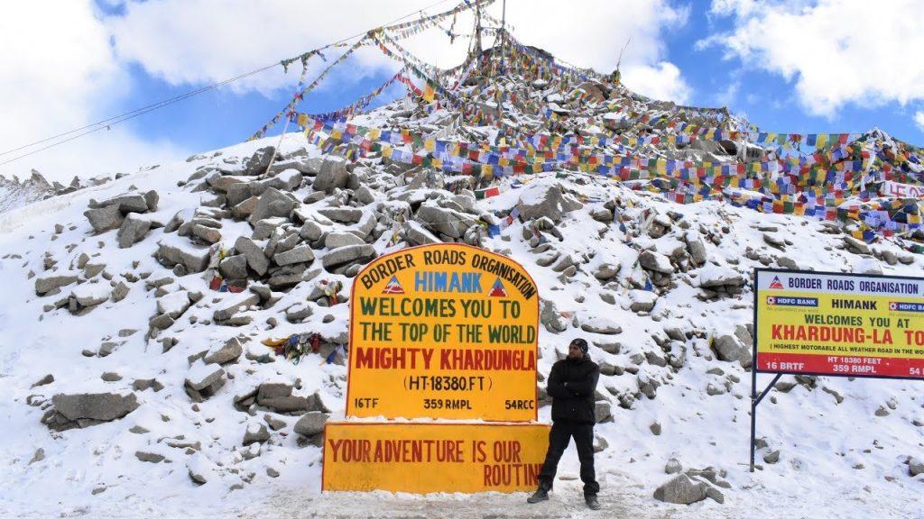 Khardungla Pass - Ladakh Tour